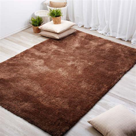 comprar alfombras decorativas baratas marrones alfombra  diseno liso modelo microfibra