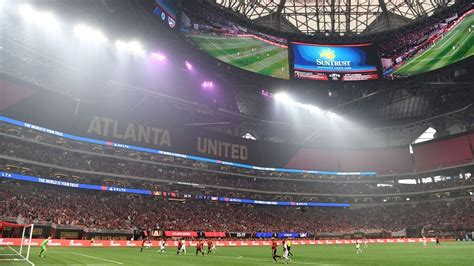possible venues for 2026 world cup fifa wraps tour of atlanta as possible host city for 2026