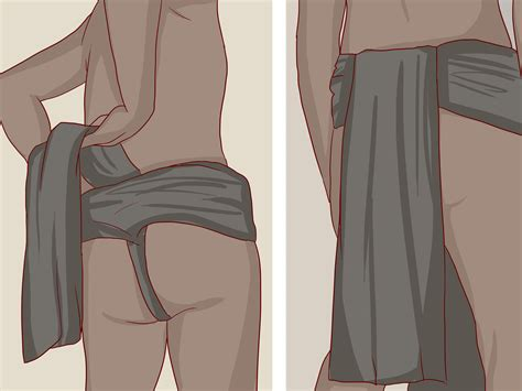 how to how to put on a loincloth 9 steps with pictures wikihow