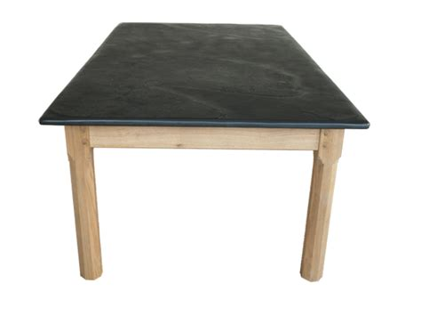 Slate Patio Table Garden Tables Oak With Slate Tops