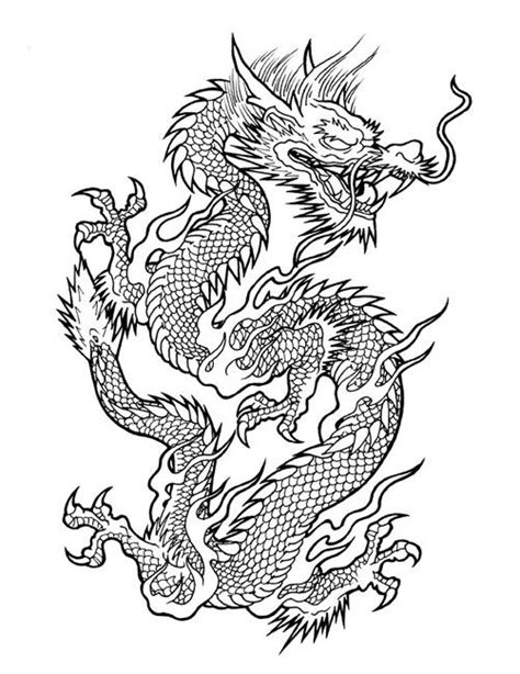vietnamese dragon coloring page image from http www drflashtattoodesigns com wp content