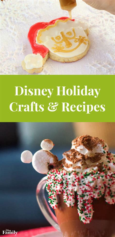 christmas crafts and recipes disney crafts and recipes disney family