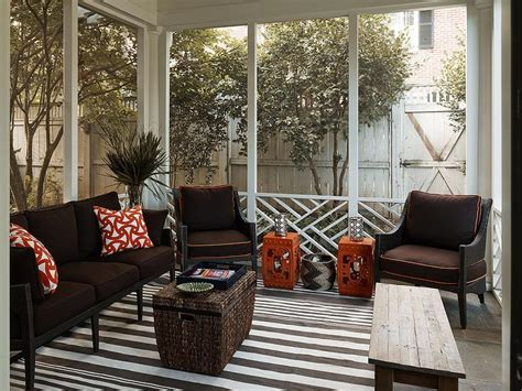 orange and brown home decor brown and orange sunrooms live home design