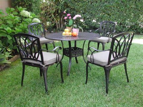 black friday cbm outdoor cast aluminum patio furniture 5