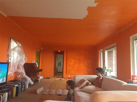 verner panton room orange room in progress the verner panton collector