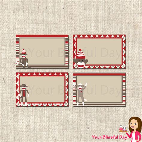 sock monkey template 5 best images of sock monkey printable templates sock
