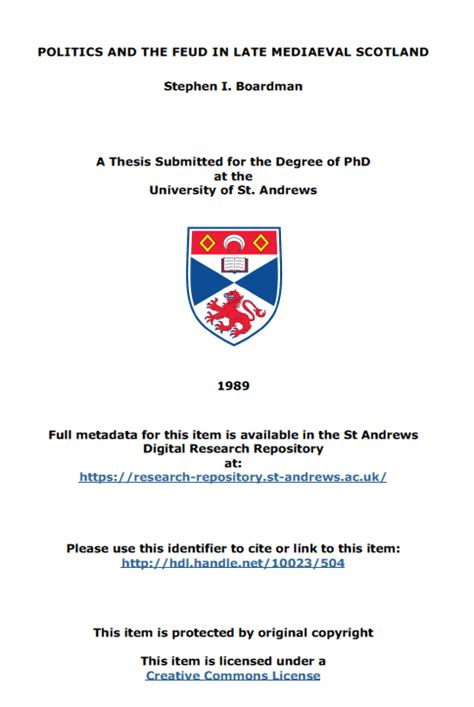 phd thesis front page dissertation front cover page