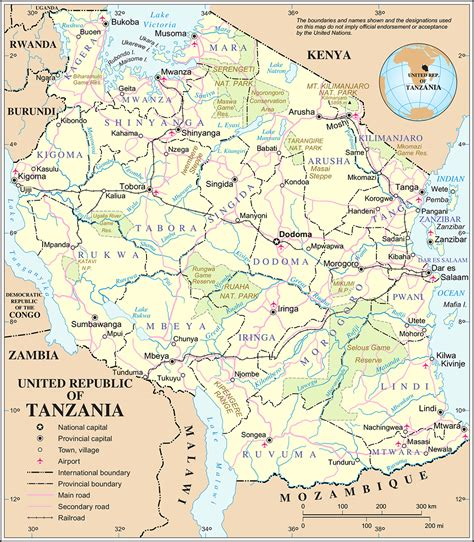 map of tanzania tanzania map with cities blank outline map of tanzania