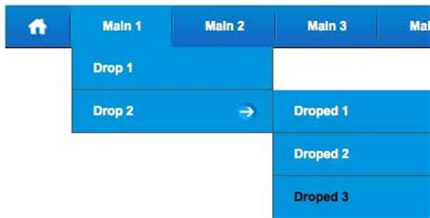 drop menu html template css multi level dropdown menu a premium css menu for