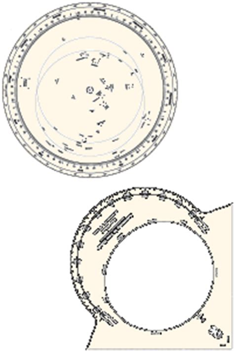 printable star wheel star wheel astronomy in your hands