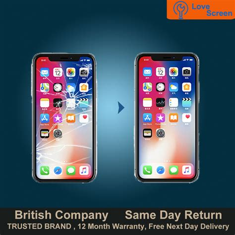 iphone xs max lcd oled screen display glass replacement