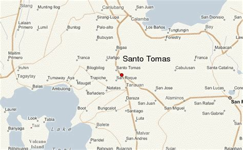 santo tomas santo tomas location guide