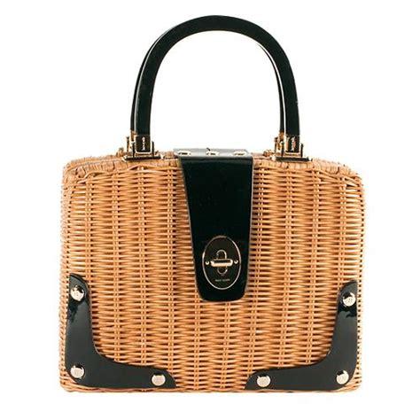 Kate Spades Wicker Clutches And Satchels by Kate Spade Compton Wicker Sossity Satchel Handbag