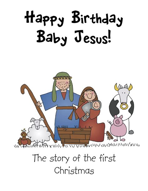 printable children s nativity story 7 best images of nativity story printable book printable