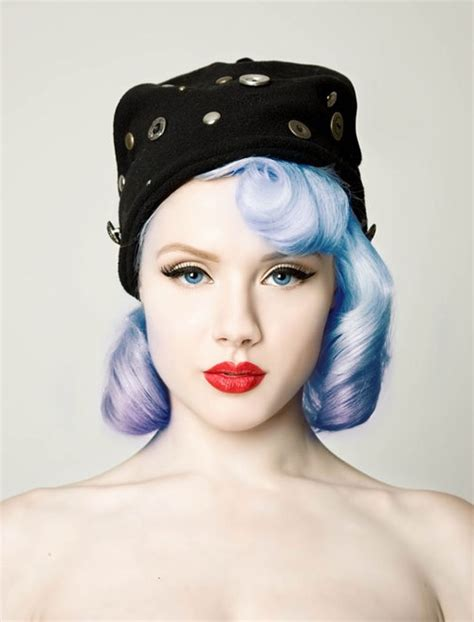 periwinkle hair style image 14 most striking colored hairstyles for 2014 pretty designs