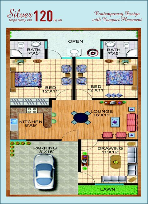 120 yard home design 160 yards house plan house design plans