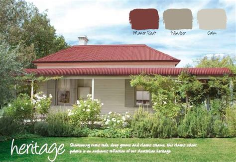 haymes paint exterior colour scheme colorbond manor is the roof haymes is the