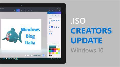 Iso Fenster by Iso Di Windows 10 Creators Update Disponibili Tramite