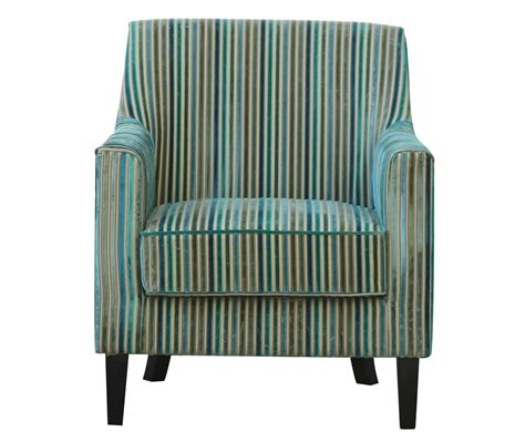 Teal Striped Armchair Golding Teal Striped Fabric Arm Chair
