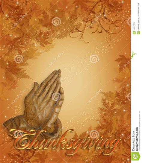 Thanksgiving Praying Hands Stock Illustration Illustration Of Christ 16267709 Thanksgiving Prayer Template