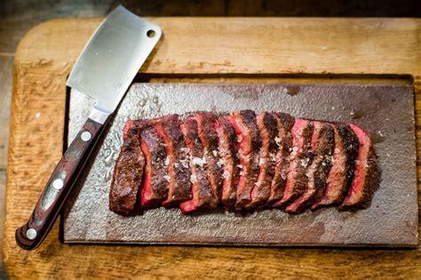 flat iron steak at flat iron london 163 10 569x327