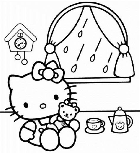 Hello Kitty Printables Archives Hello Birthday Coloring Pages