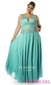Sydneys closet plus size prom dress