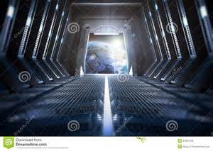 interior space earth seen from inside a space station stock photo image 51837945