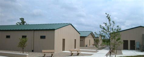 Green Home Builders barracks amp bathhouse complex camp atterbury driftwood