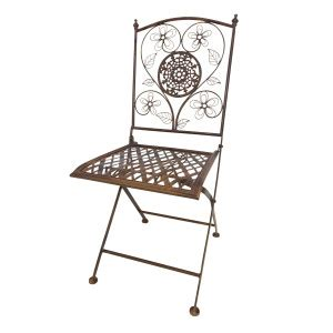 Copper Bistro Chair Antique Country Folding Chair Copper Chairs And Seating Furniture Rentals South Florida