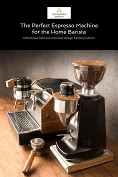 espresso maker design custom wood panels for la marzocco gs3 espresso machine