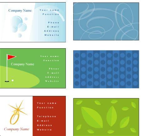 free business card templates online image search results