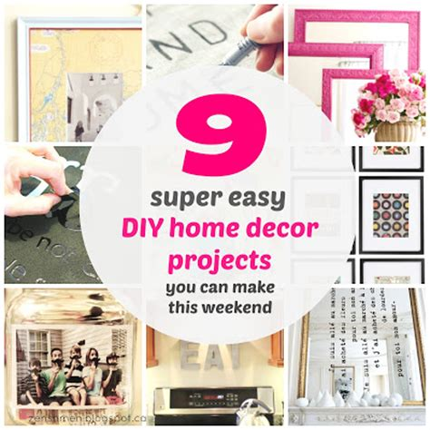 zen shmen 9 easy diy home decor projects you can