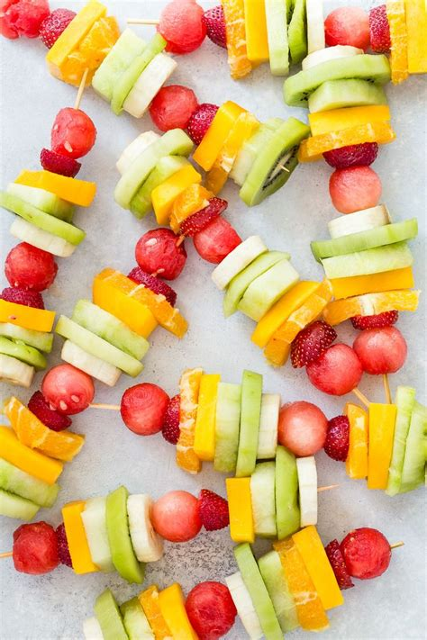 kid friendly fruit appetizers best 25 rainbow fruit kabobs ideas only on fruit kabobs fruit skewers and fruit kebabs