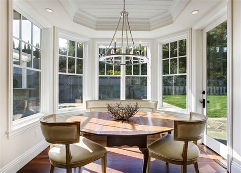 breakfast room lighting los angeles family home with transitional interiors home