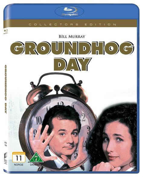groundhog day dvd groundhog day genret komedia