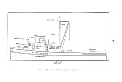 diagram of fishing boat large commercial fishing boat diagram google search