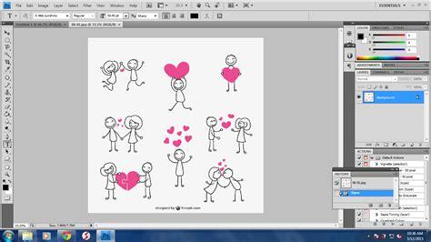 tutorial photoshop cs4 bahasa indonesia gratis tutorial memotong gambar dengan eraser tool pada