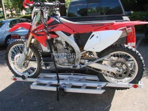 motorcycle dirt bike carrier trailer suv rv hauler rack