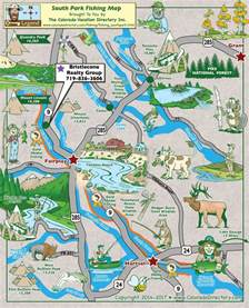 fishing maps colorado south park fishing map colorado vacation directory