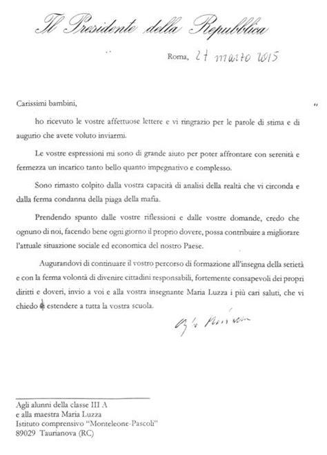 lettere informali taurianova i bambini della iii a della monteleone