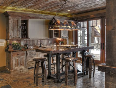 arredamento casa stile rustico 16 esempi di angolo bar in casa con arredamento rustico