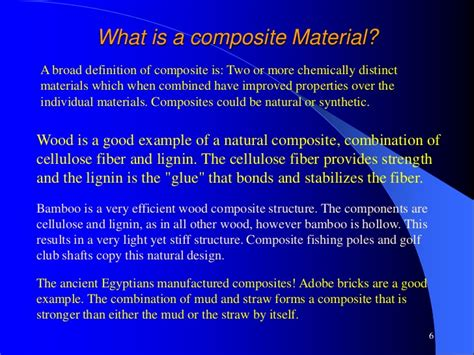 What Is Composition by Svnit Composite Materials