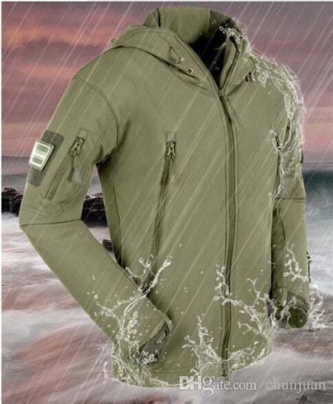 Impor Jaket Army Tad Gear Tactical Brown fall stealth hoodie tad soft shell tactical jacket quality patrol tactical
