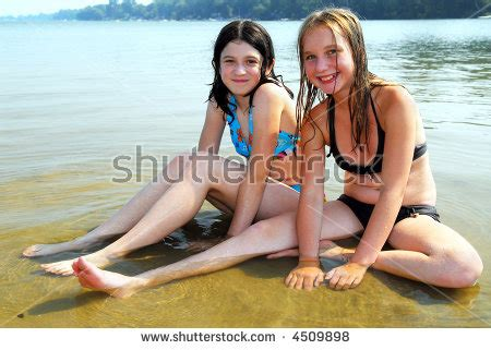 mini models photo galleries of pre teen beauties two enjoying girls preteen summer stock images royalty