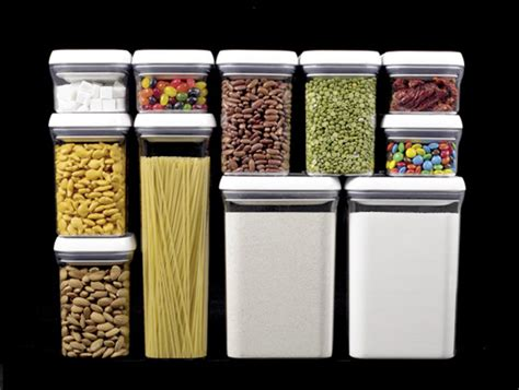 Pantry Food Storage Containers best pantry organizers space savers food storage