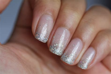 Glitter Nail by Dsk Steph S Nails Glitter Waterfall Shellac Nails
