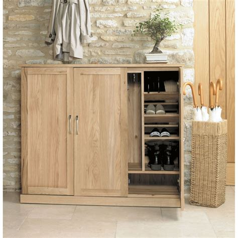 large shoe storage cabinet mobel solid modern oak hallway furniture large shoe