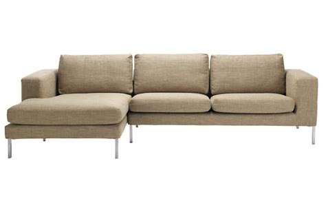 sectional with chaise slipcovers neo sectional chaise left slipcover design within reach