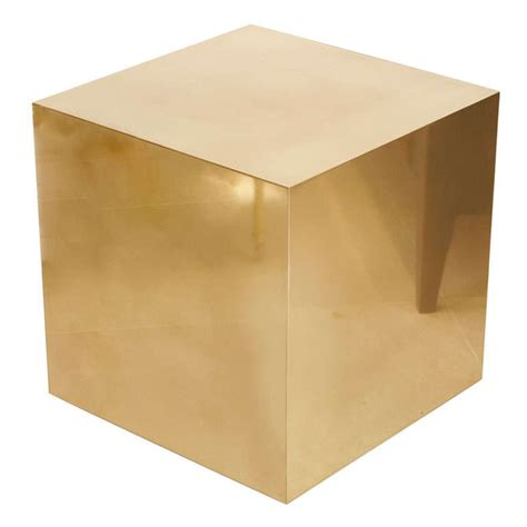 Cube Side Table cube side table at 1stdibs